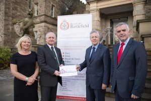 Peter Robinson MLA and Jonathan Bell MLA with Beyond the Battlefield - 16 October 2014 #2