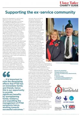 Beyond the Battlefield Ulster Tatler March 2020